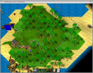 Widelands - misja Imperium w krajobrazie pustynnym