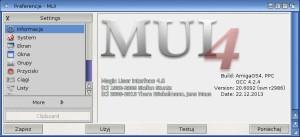 MUI4 - czy jest to część systemu? Oficjalnie nie, ale przecież kolejne wersje wrzucane na serwer Hyperionu, od lat są testowane przez betatesterów.