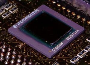 Motorola PowerPC 604e na karcie procesorowej Amigi