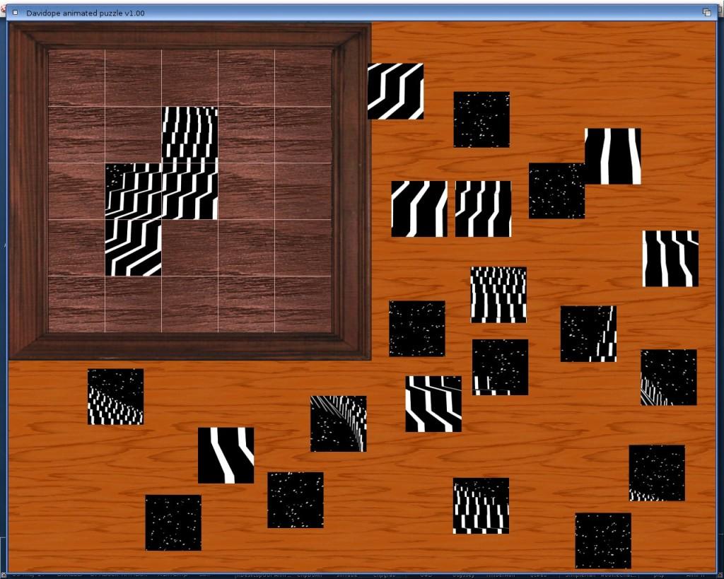 Davidope puzzle - rozgrywka