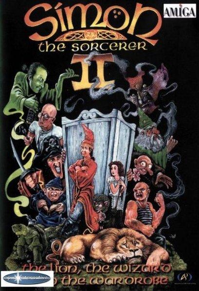 Simon te Sorcerer 2 - okładka