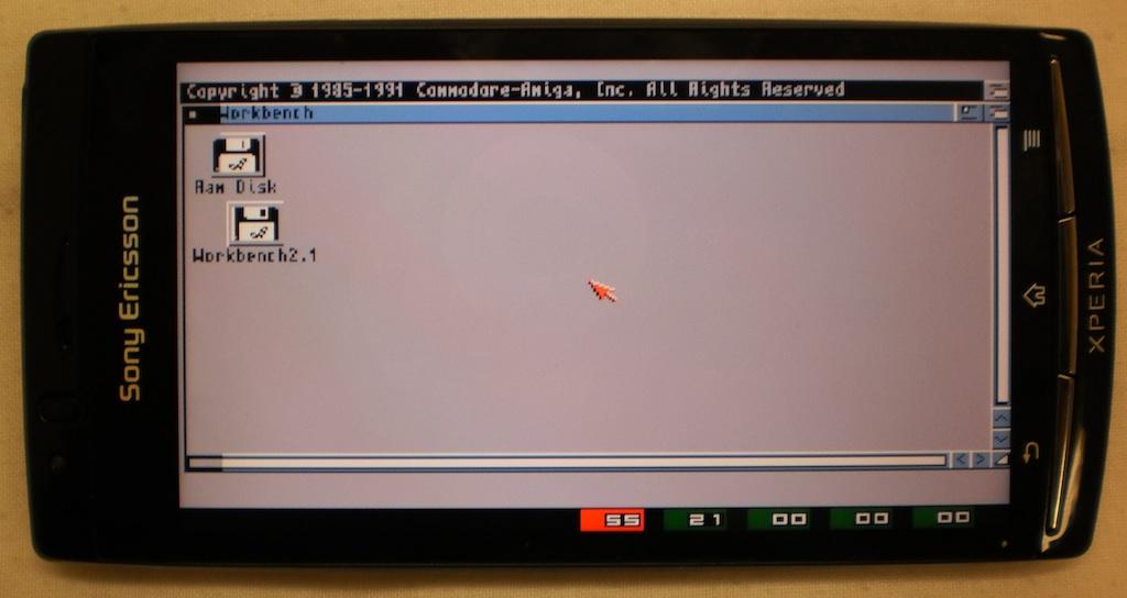 Zdj. 4 Workbench na ekranie telefonu Sony Ericsson