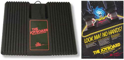 Joyboard dla konsoli Atari 2600 opatrzony logiem Amigi