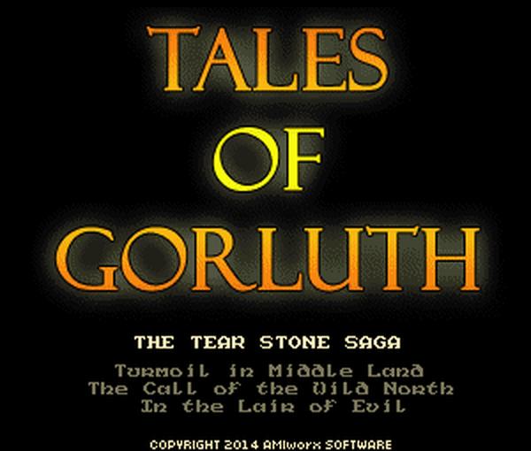 ToG - ekran tytułowy