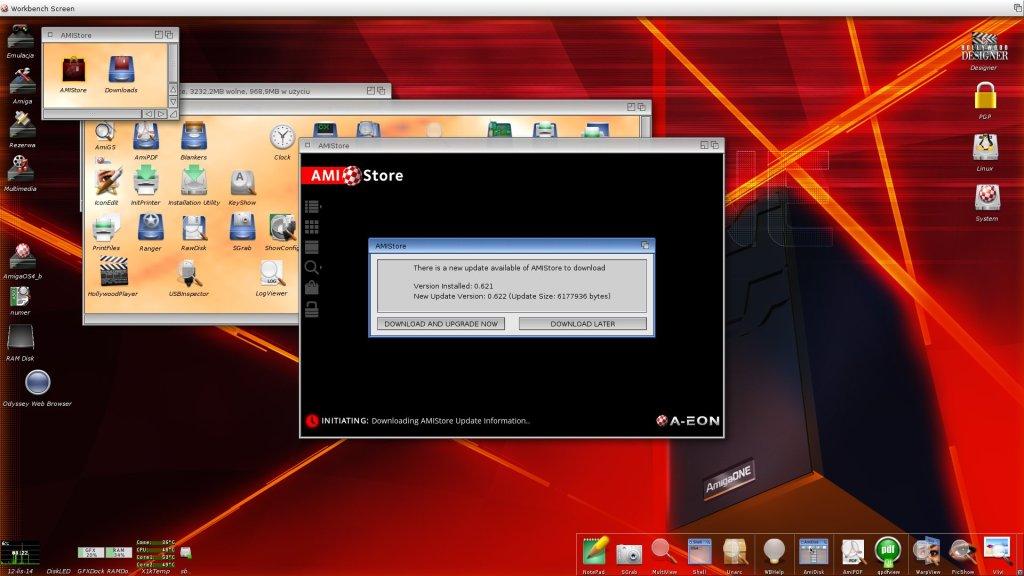 Amistore -automatyczna aktualizacja programu