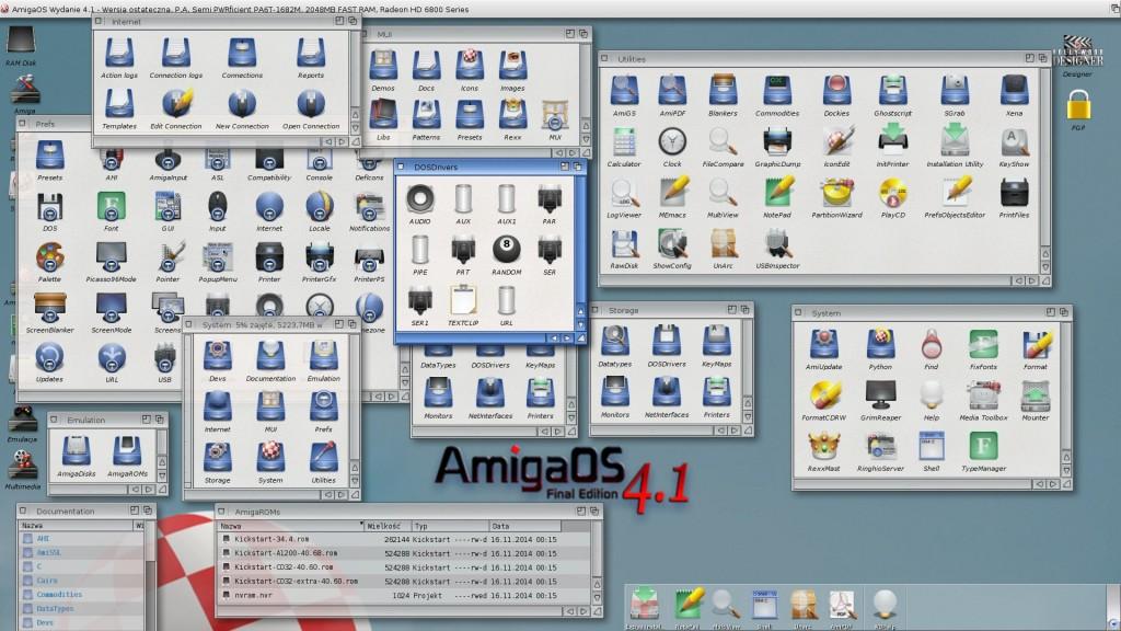 AmigaOS 4.1 Final Edition w pełnej krasie