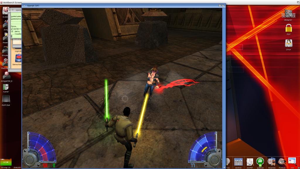 Jedi Academy - walka z Bossem
