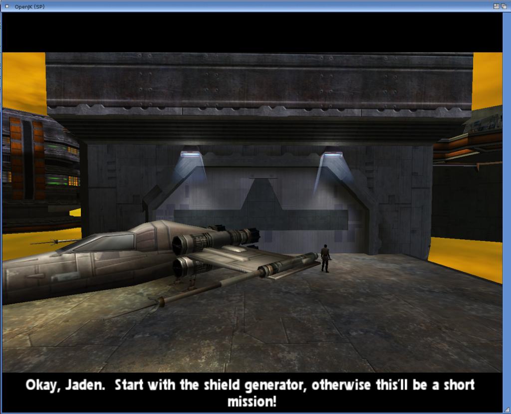 Jedi Academy - początek jednej z dłuższych misji