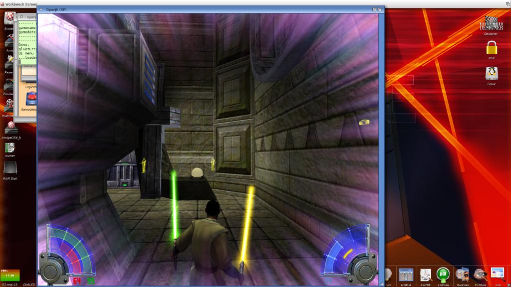"""Jedi Academy - użycie mocy """"wizja"""""""