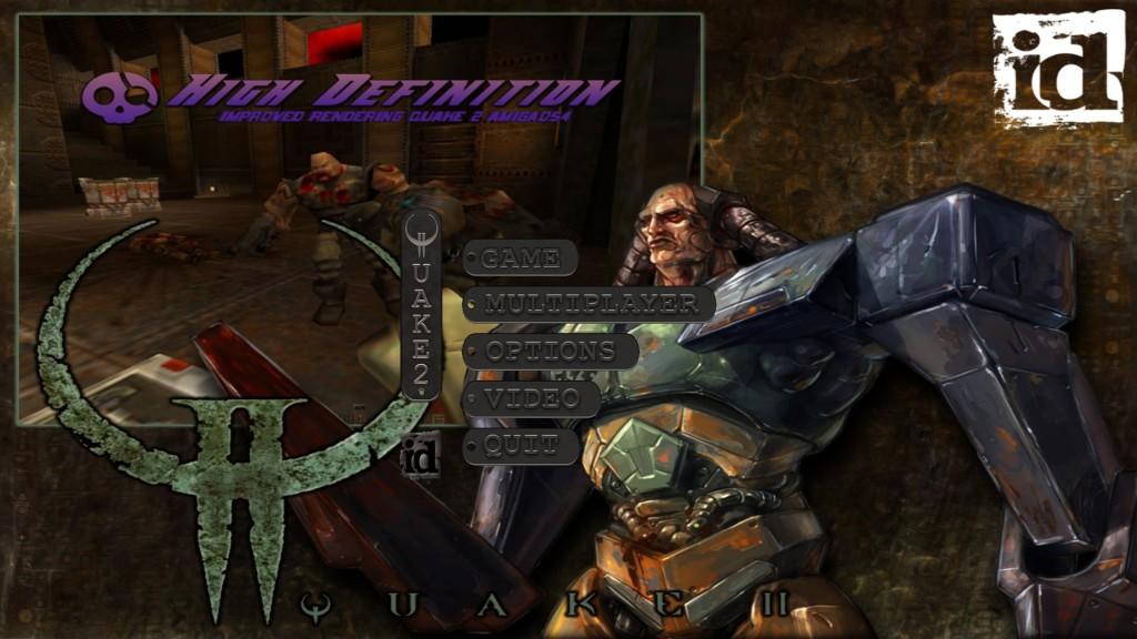 Quake 2HD - ekran startowy