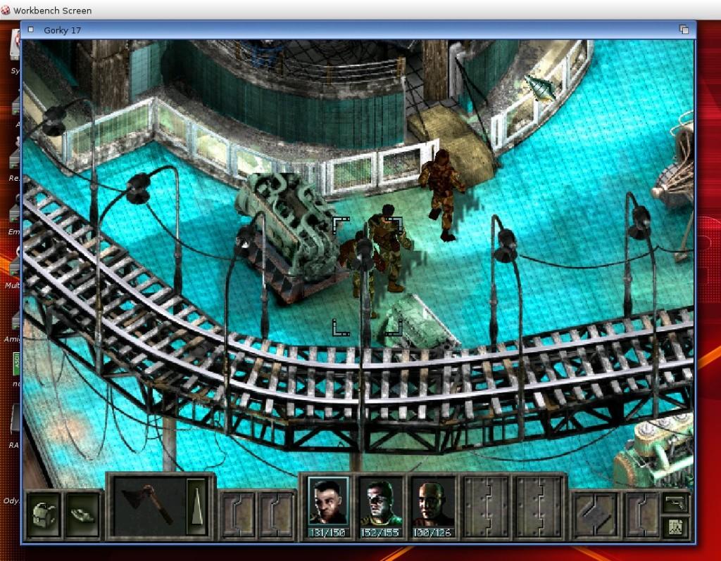 Gorky 17 na ekranie Workbencha