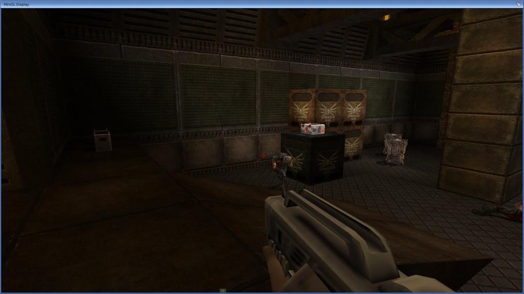 Quake 2HD w oknie Workbencha