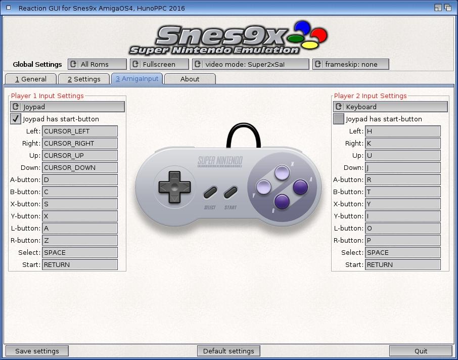 Snes9x - tutaj nie ma problemu z supportem dla kontrolerów