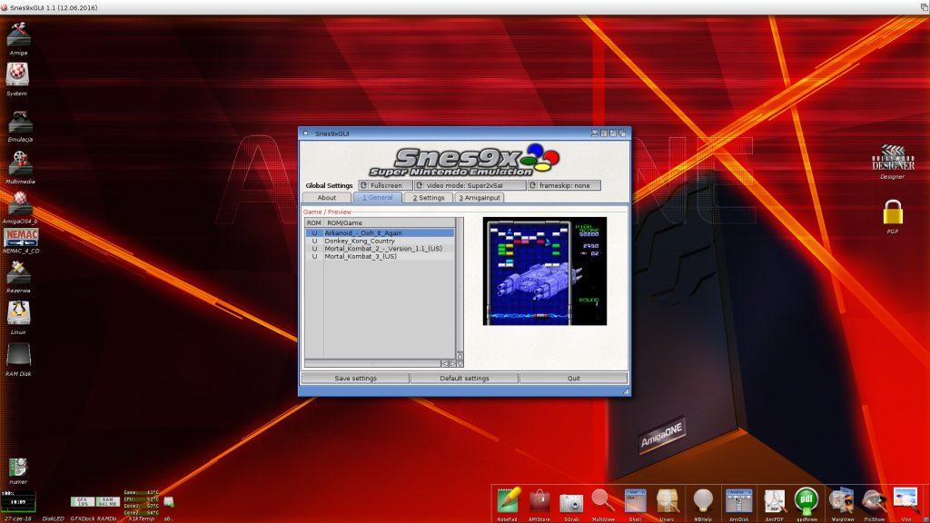 Snes9x - GUI alternatywne