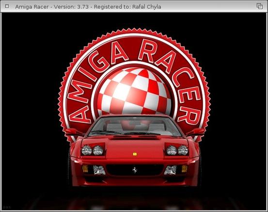 Amiga Racer intro