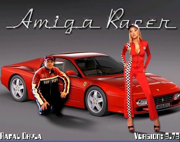 Amiga Racer - ozdobnik