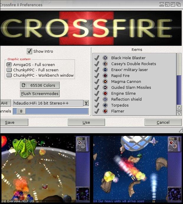 Crossfire 2 - preferencje i rozgrywka