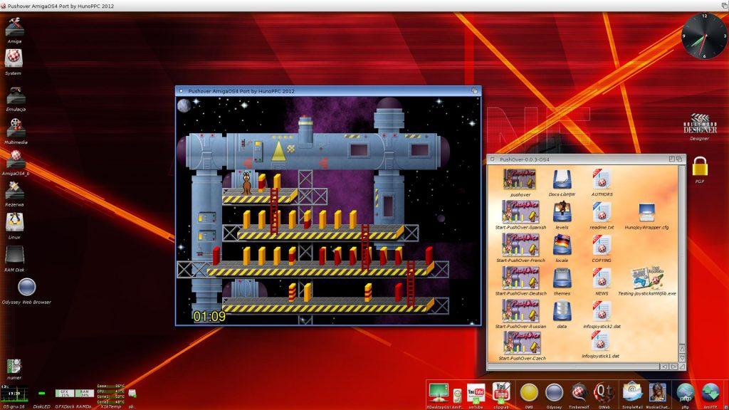 Pushover na AmigaOS 4.1