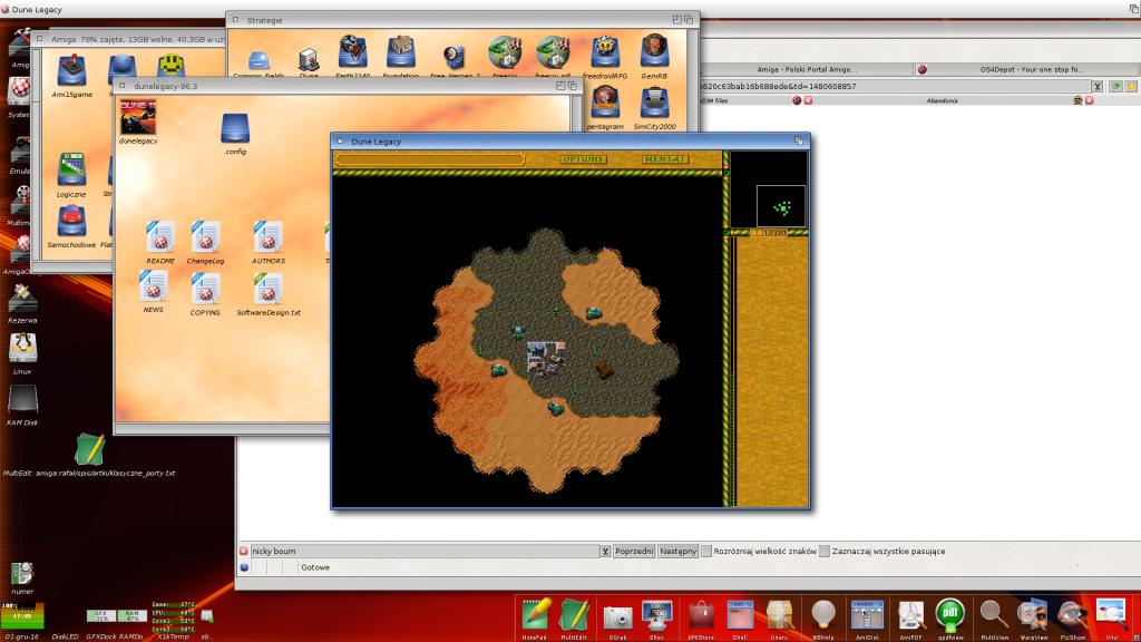 Dune 2 pod AmigaOS 4