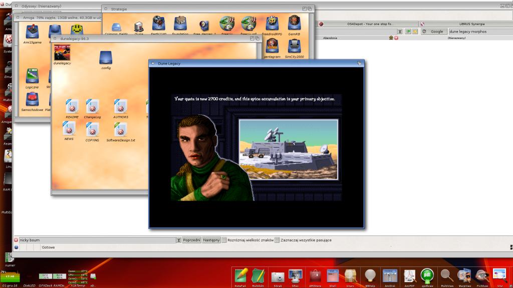 Dune 2 wprowadzenie - Amiga NG